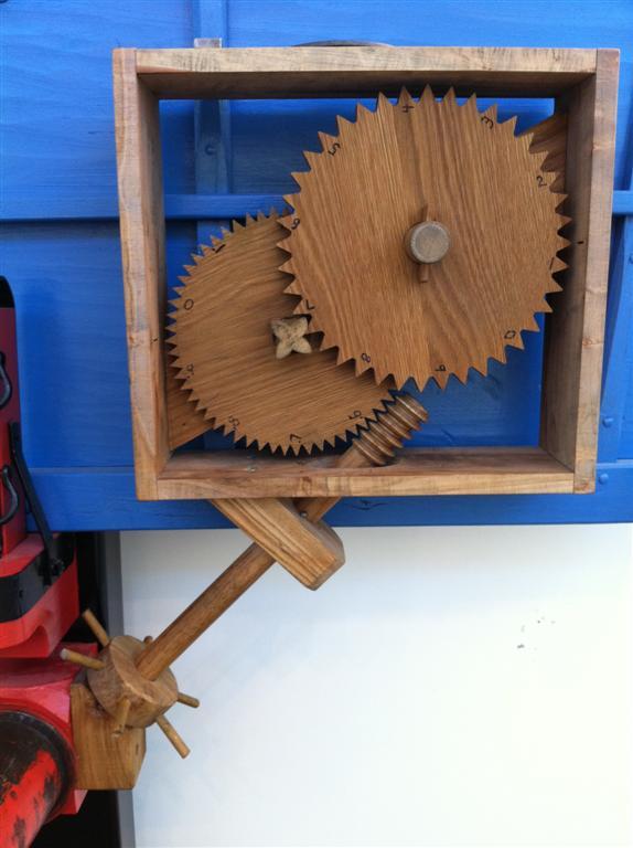 CALIFORNIA TRAIL: Wagon Wheel Odometer