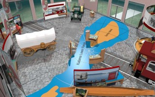 PORT OF KALAMA, WA: Transportation Interpretive Center